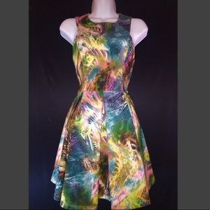 A beautiful multicolored dress great for any event